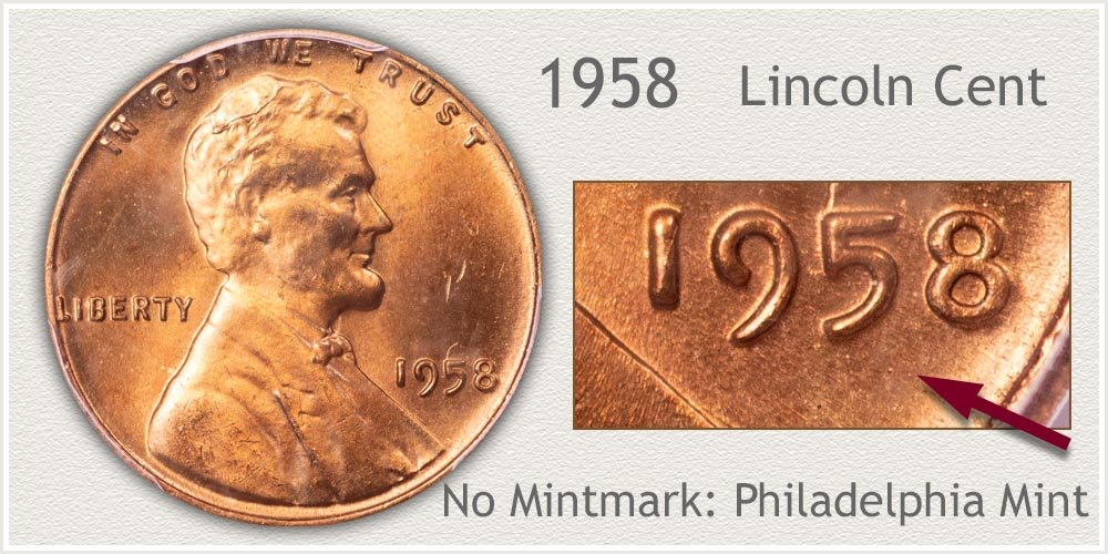 1958 Lincoln Penny