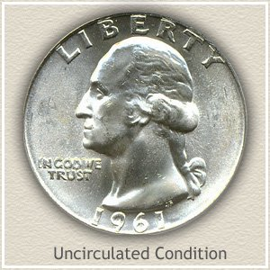 1961 Quarter Uncirculated Condition