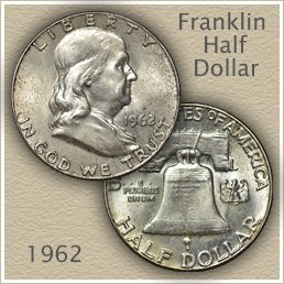 1962 Franklin Half Dollar