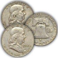 1963 Franklin Half Dollar Circulated Condition