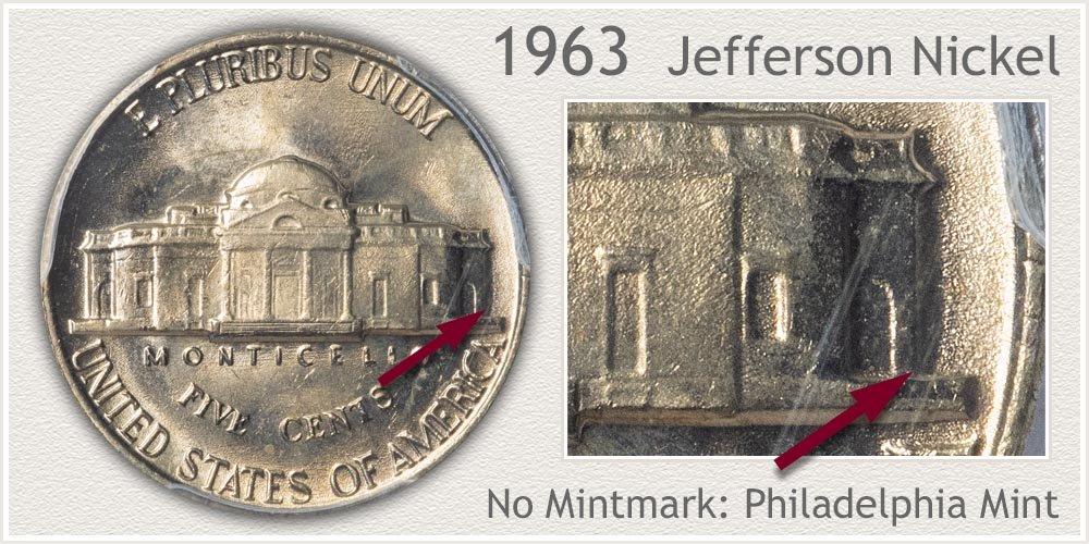 1963 Jefferson Nickel