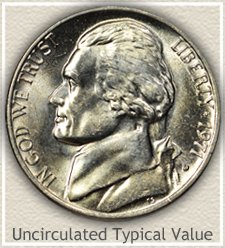 Uncirculated 1971-P Jefferson Nickel