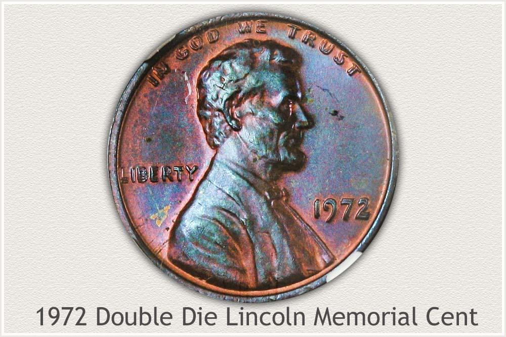 1972 Doubled Die Memorial Penny