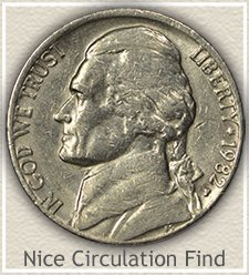 Nice 1982-P Jefferson Nickel
