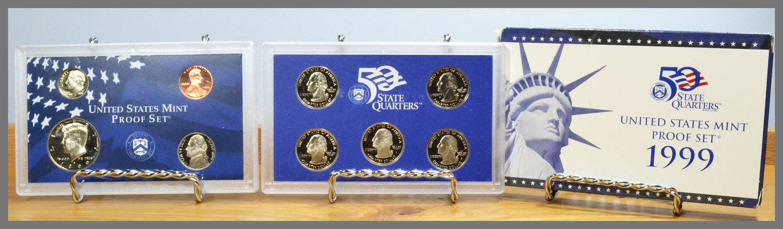 1999 US Mint Proof Set Values