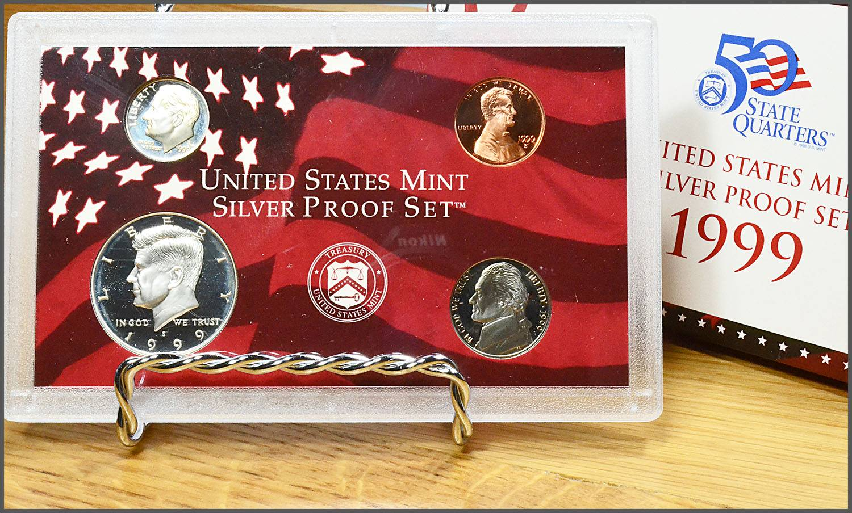 2002-S United States Mint Proof Set w//State Quarters