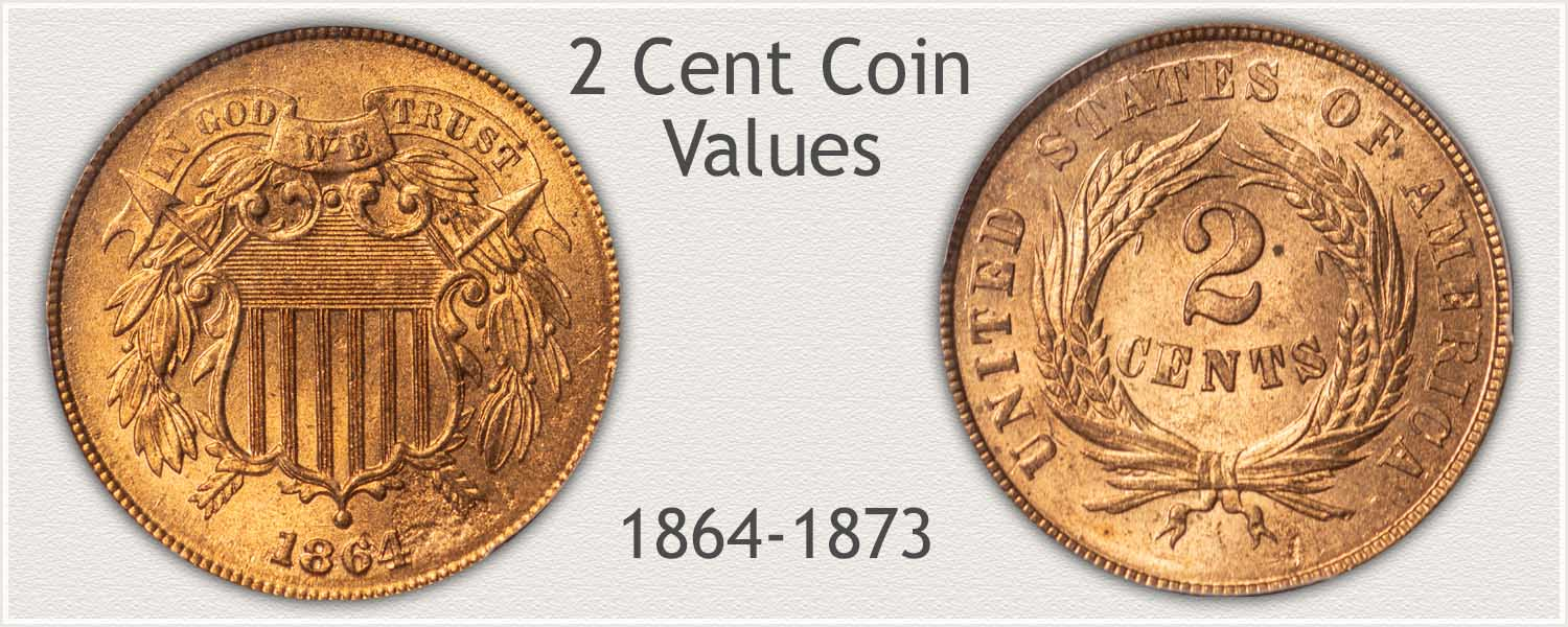 2 Cent Coin Obverse and Reverse