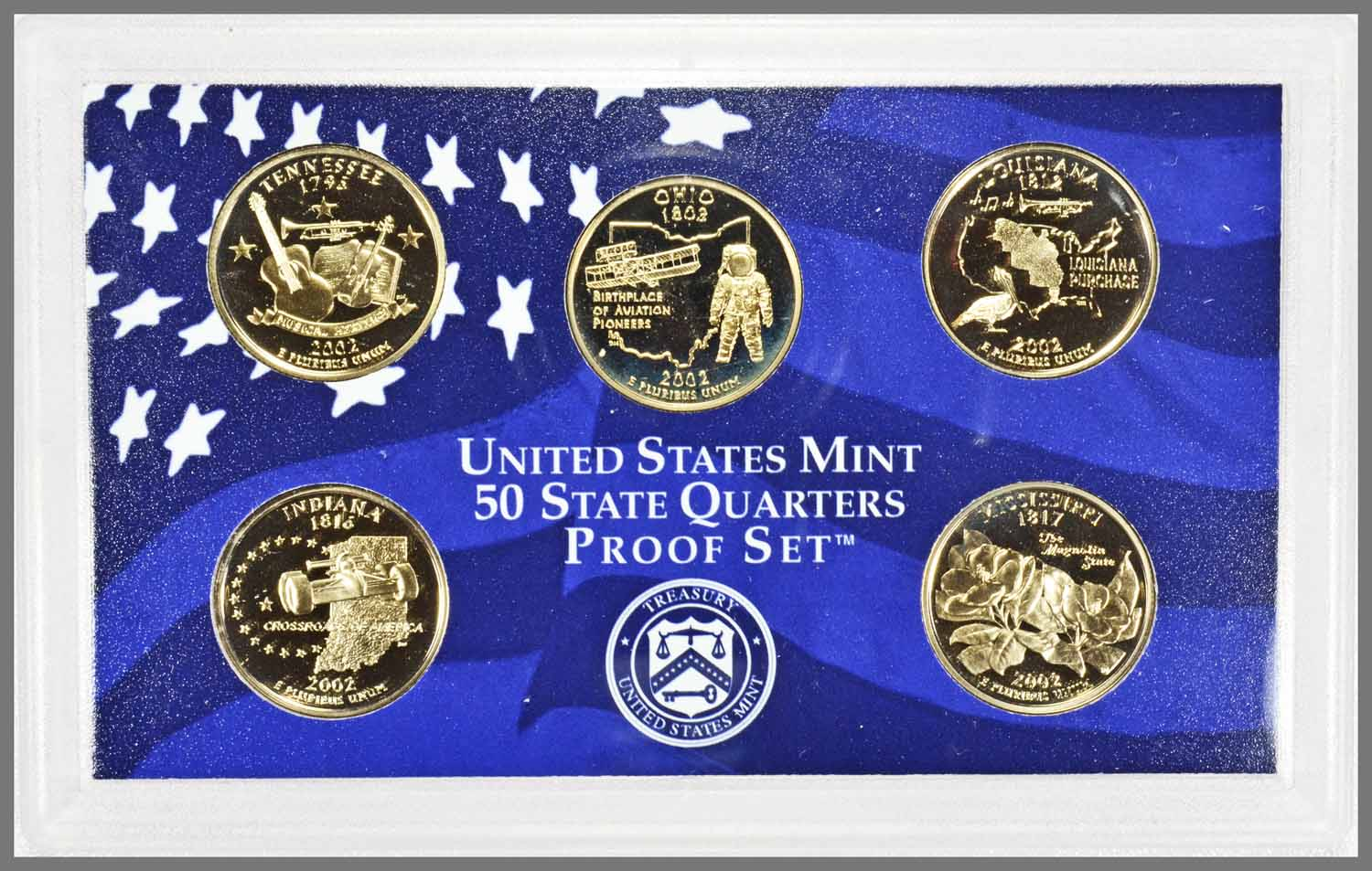 2002 Proof State Quarters