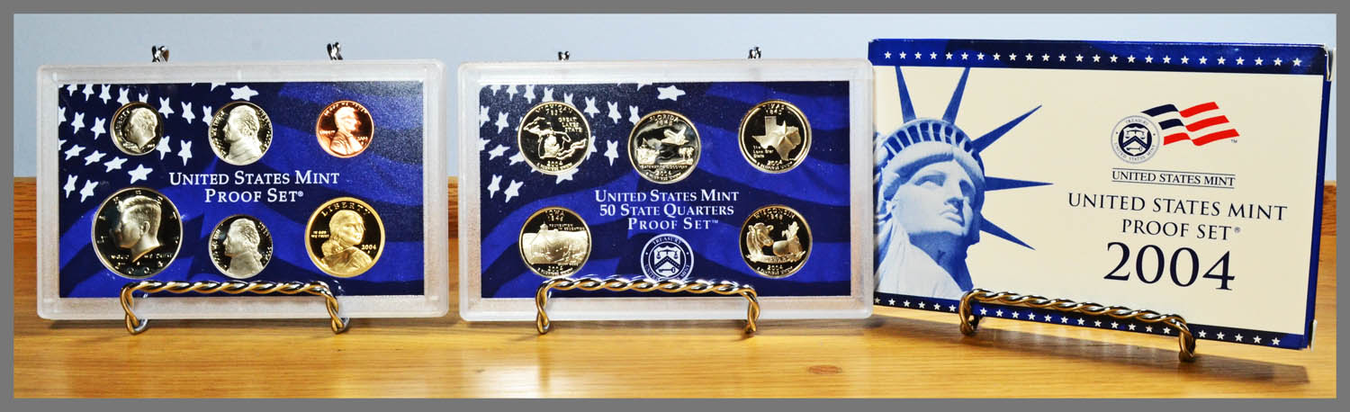 2004 11-Coin Proof Set and Package