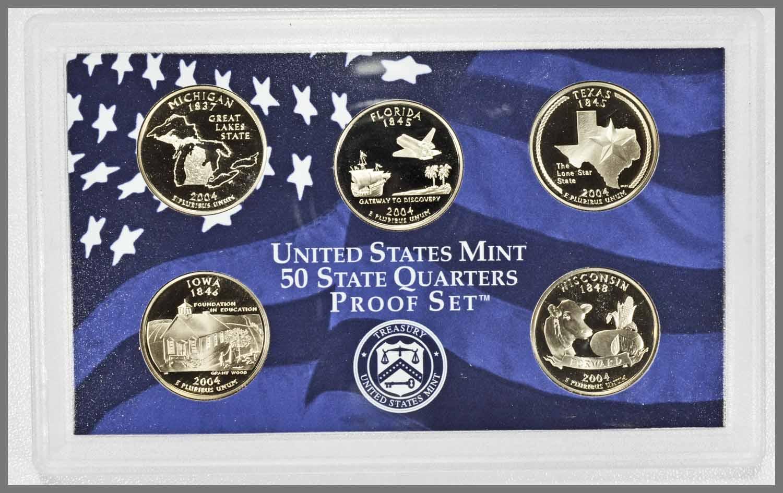 2004 State Quarter Proof Set