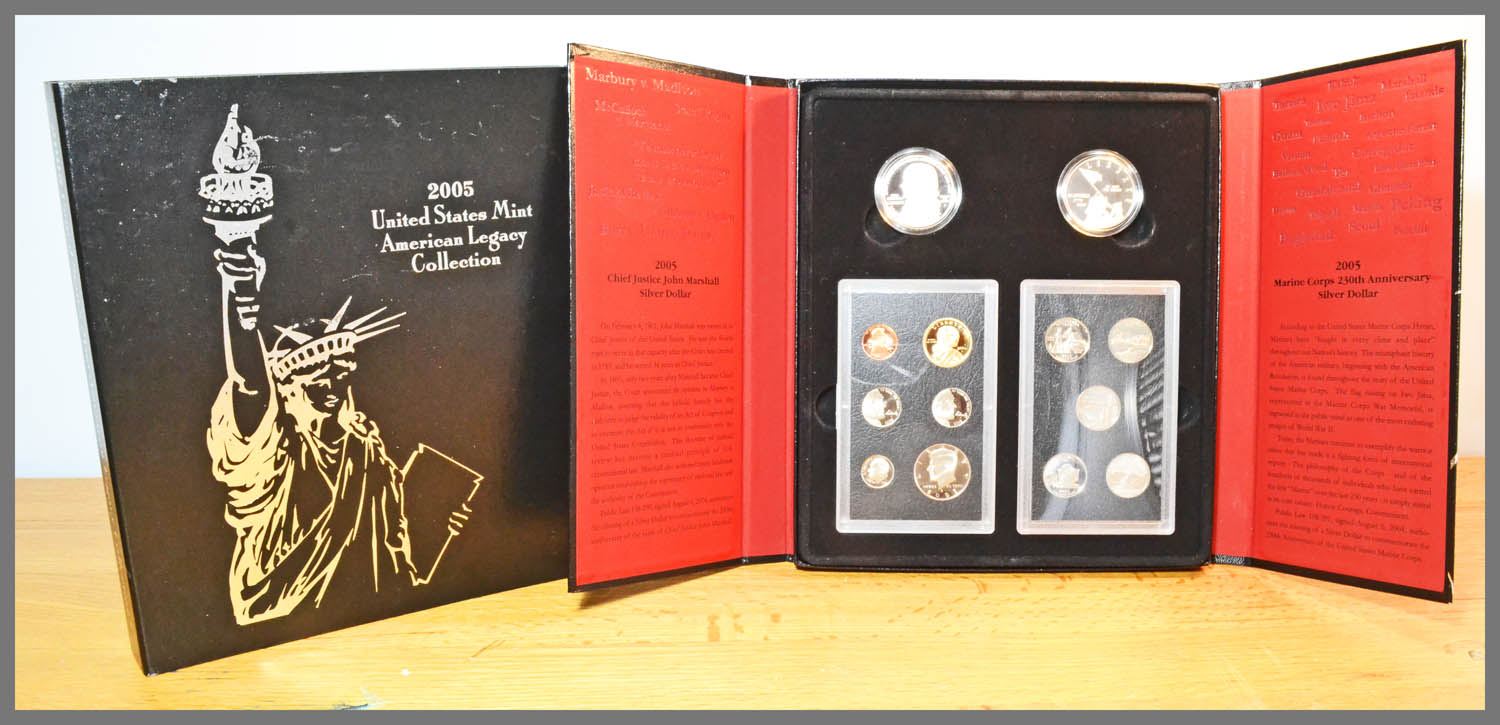 2005 American Legacy Proof Set and Package