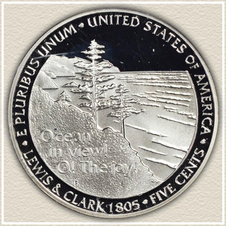 2005 Ocean in View Nickel Reverse