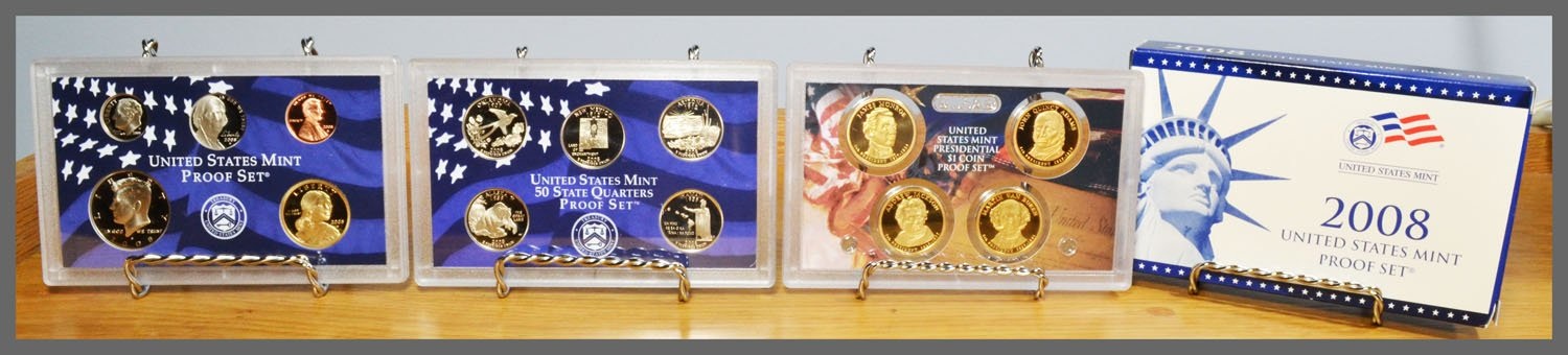 2008 14-Coin Proof Set and Package