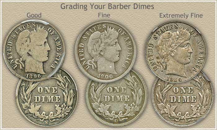 Barber Dime Grading