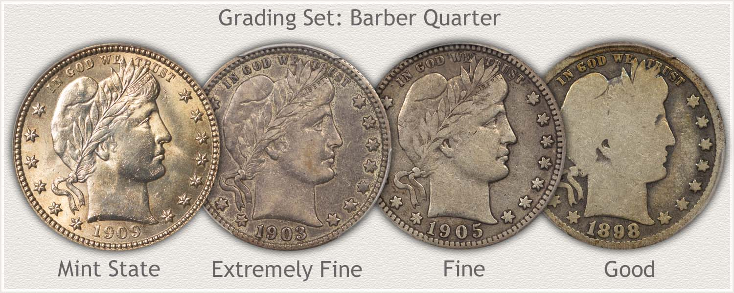 Grade Set Barber Quarters