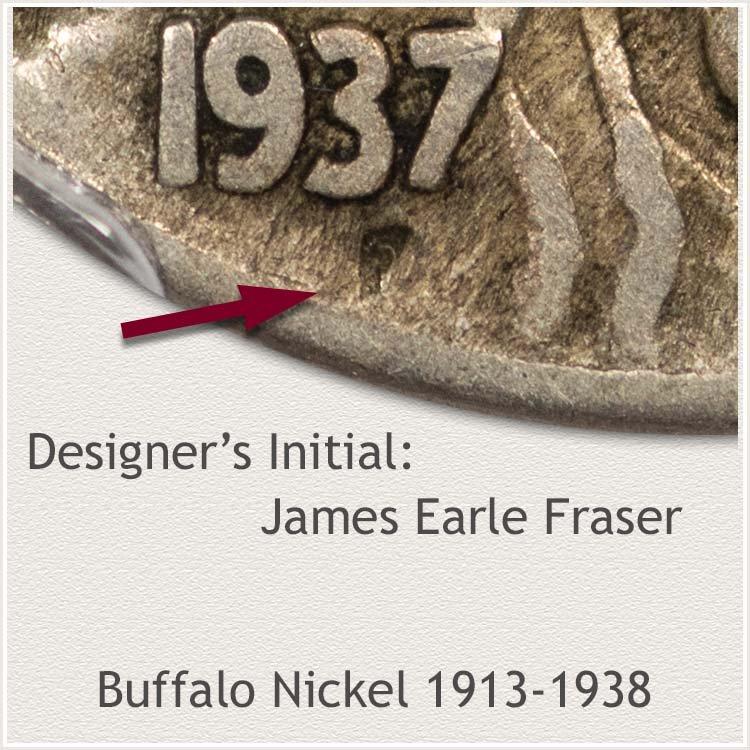 Designer James Earle Fraser Initial