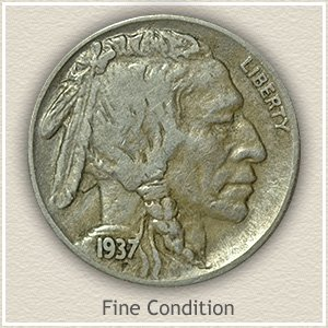 Buffalo Nickel Fine Condition