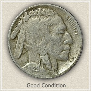 Buffalo Nickel Good Condition
