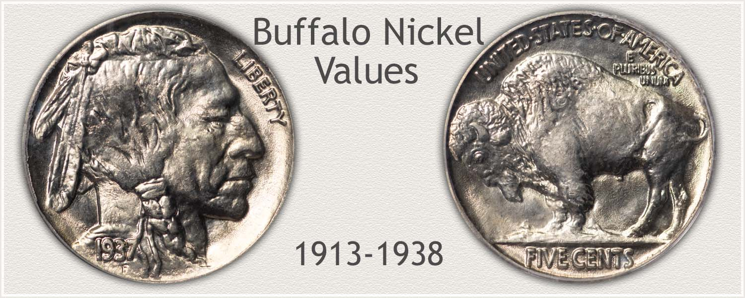 Obverse and Reverse of a Buffalo Nickel