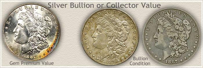 1887 Morgan Silver Dollar Value | Discover Their Worth