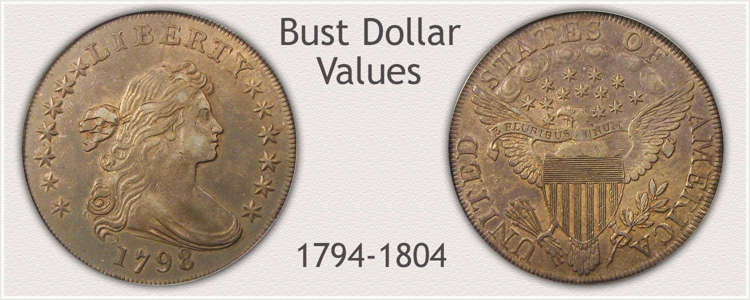 Bust Silver Dollar Draped Bust Variety