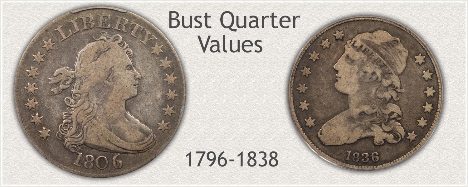 Uncirculated Bust Quarter