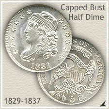 Capped Bust Half Dime Type
