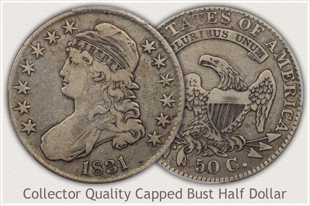 Nice Condition Capped Bust Half Dollar