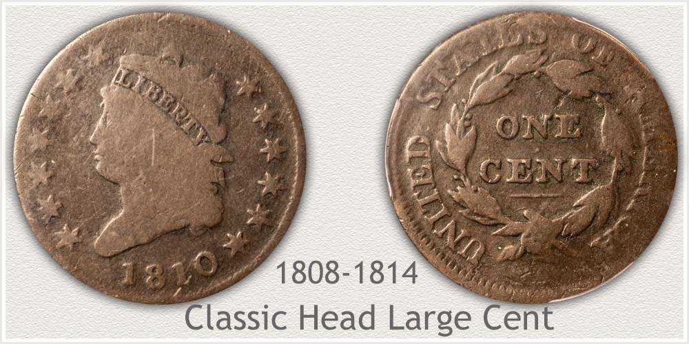 Classic Head Variety Large Cent