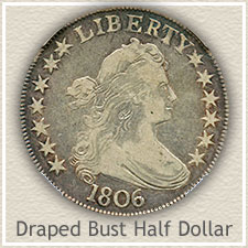 Draped Bust Half Dollar