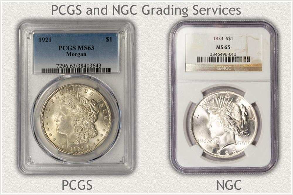 PCGS and NGC Grading Holders
