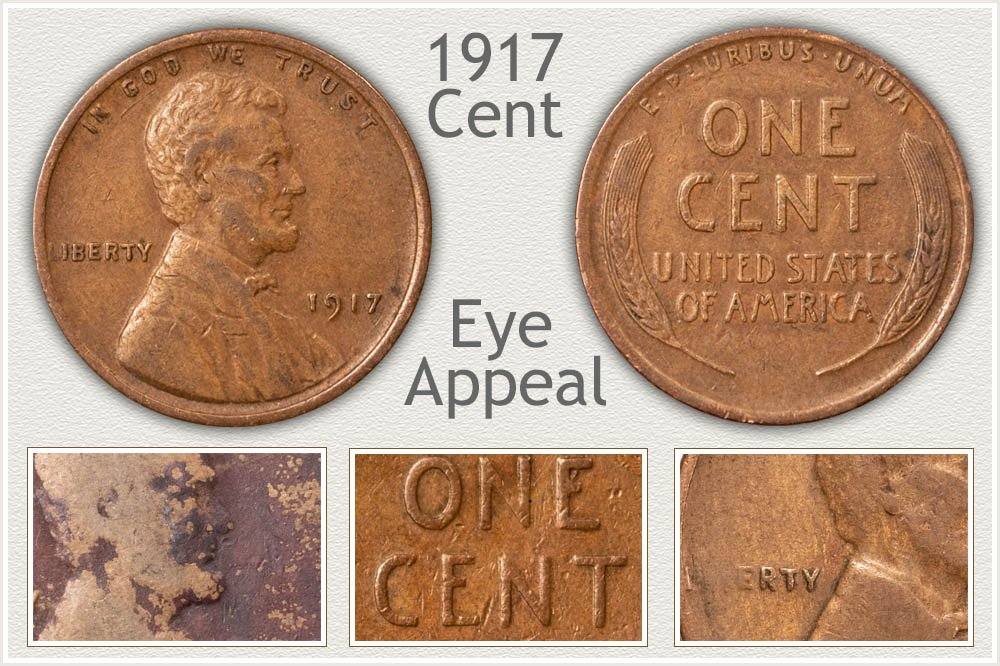 Judging Eye Appeal of 1917 Penny