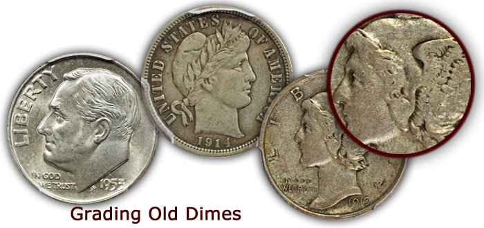 Grading Old Dimes