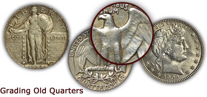 Grading Old Quarters