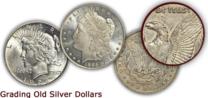 Grading Old Silver Dollars