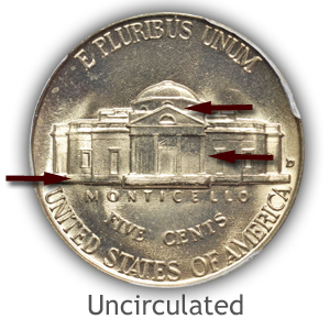 Grading Reverse Uncirculated Jefferson Nickels