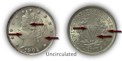 Grading Uncirculated Liberty Nickels