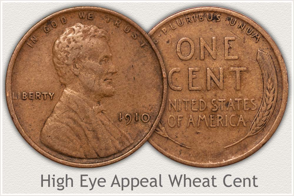 Circulated Wheat Cent with High Eye Appeal