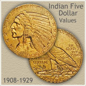 Indian Five Dollar Gold Coin Value Discover Their Worth