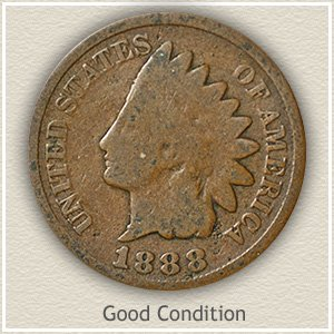 1865 Indian Head Penny Good Condition