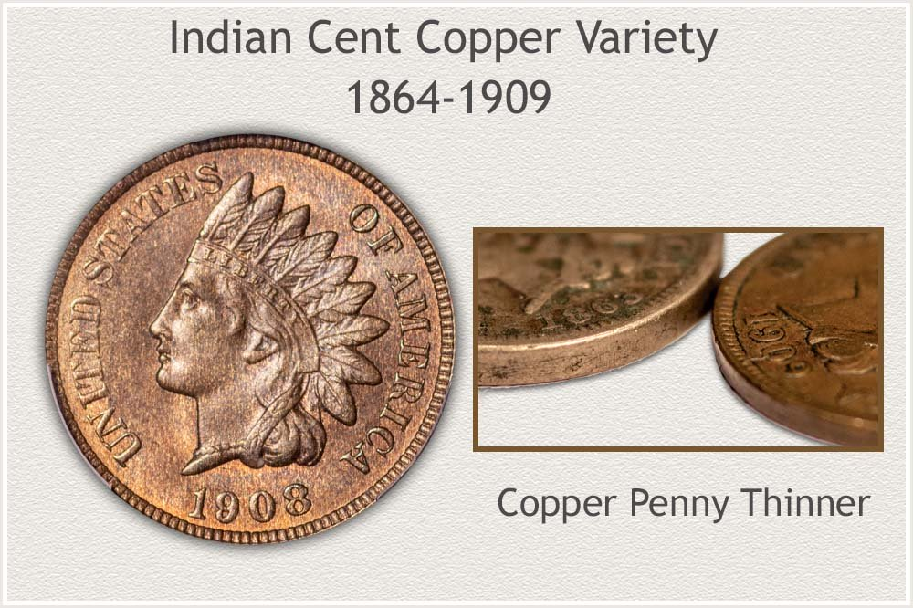 Copper Alloy Variety Indian Cent