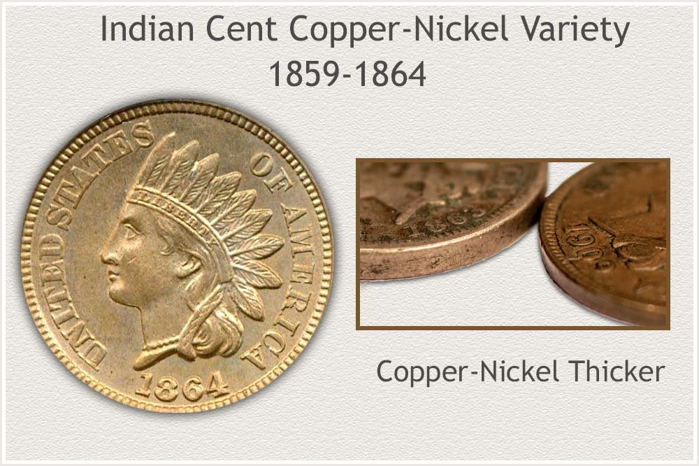 Copper-Nickel Variety Indian Cent