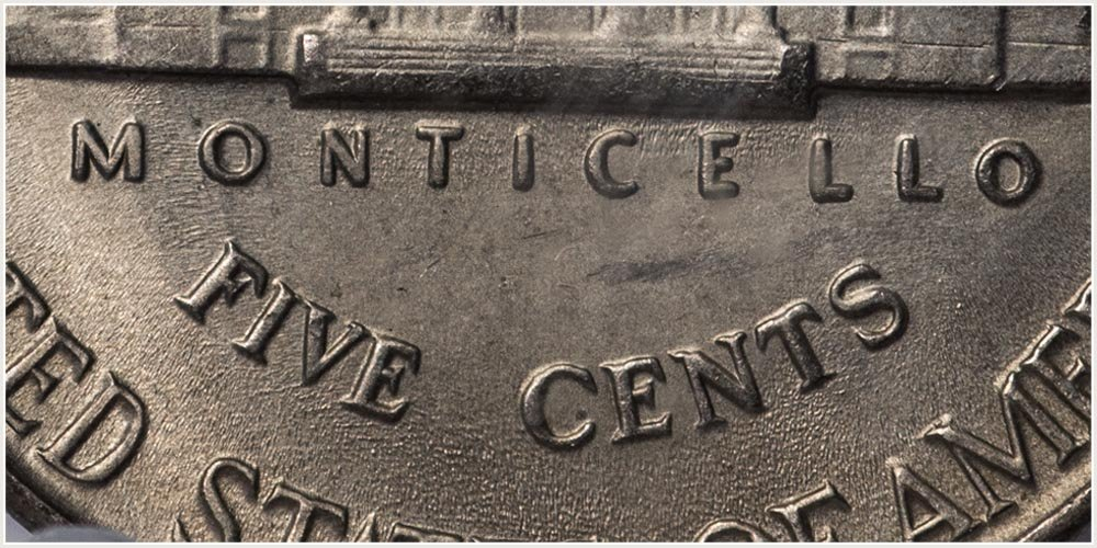 Denomination Jefferson Nickel