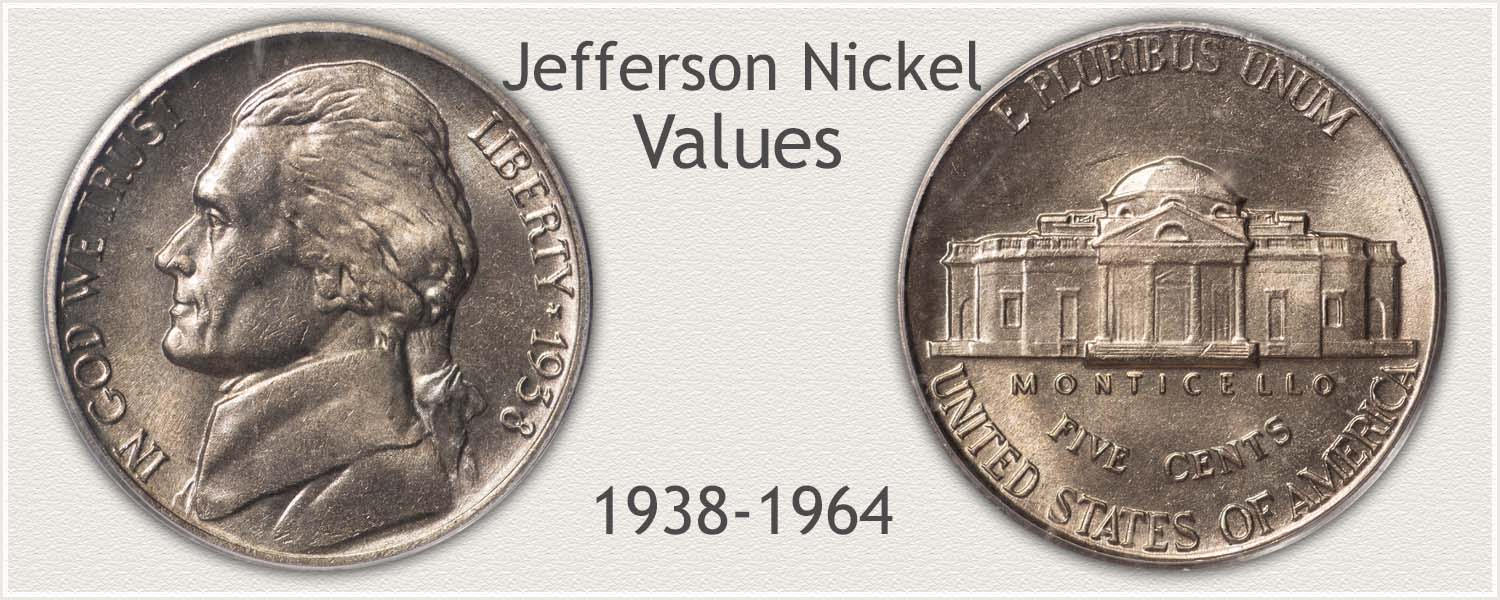 Obverse and Reverse Jefferson Nickel