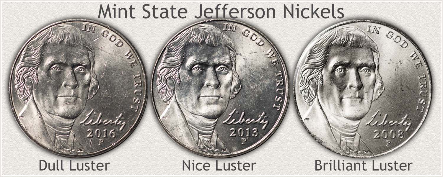 Three Mint State Jefferson Nickels Stages of Appeal