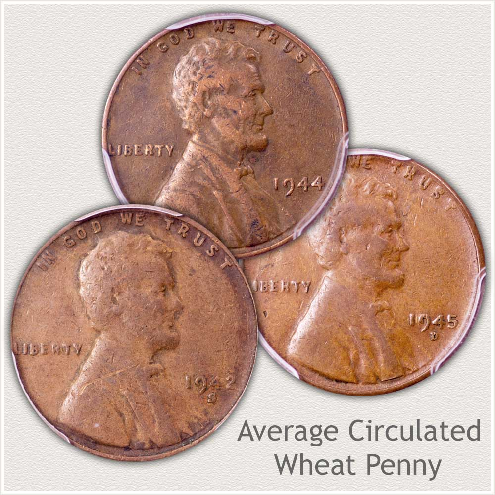 Average Circulated Lincoln Penny