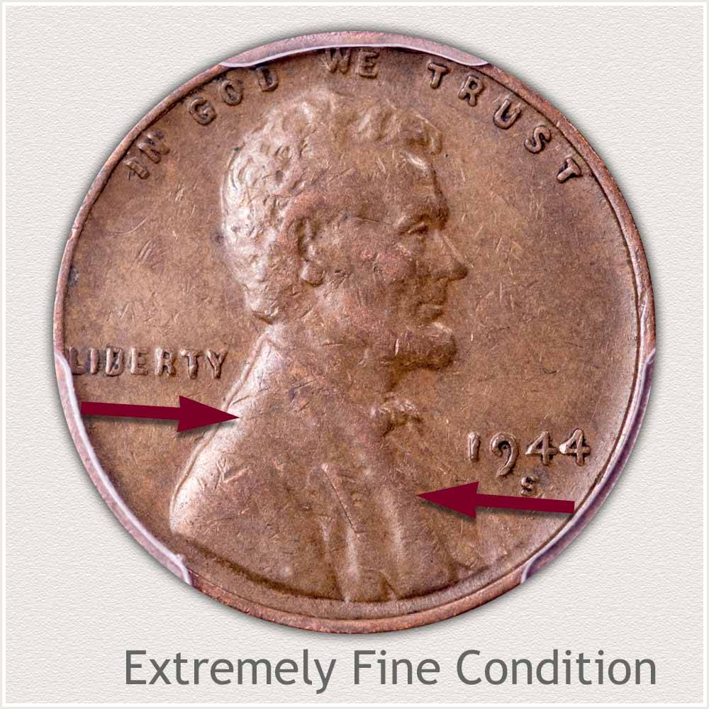 SCARCE BETTER DATE 1923-S LINCOLN PENNY IN XF EXTRA FINE CONDITION