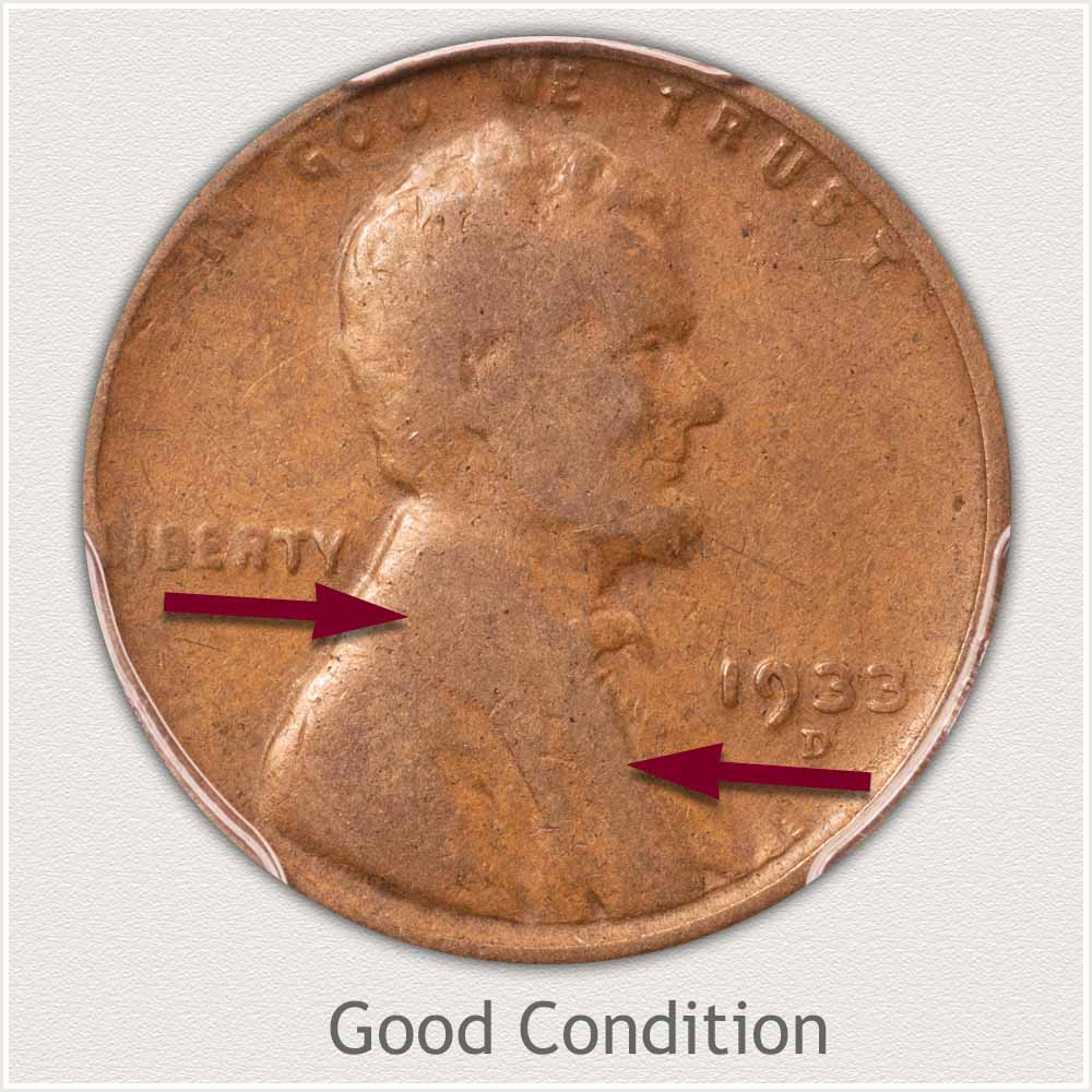 Lincoln Penny in Good Grade Condition