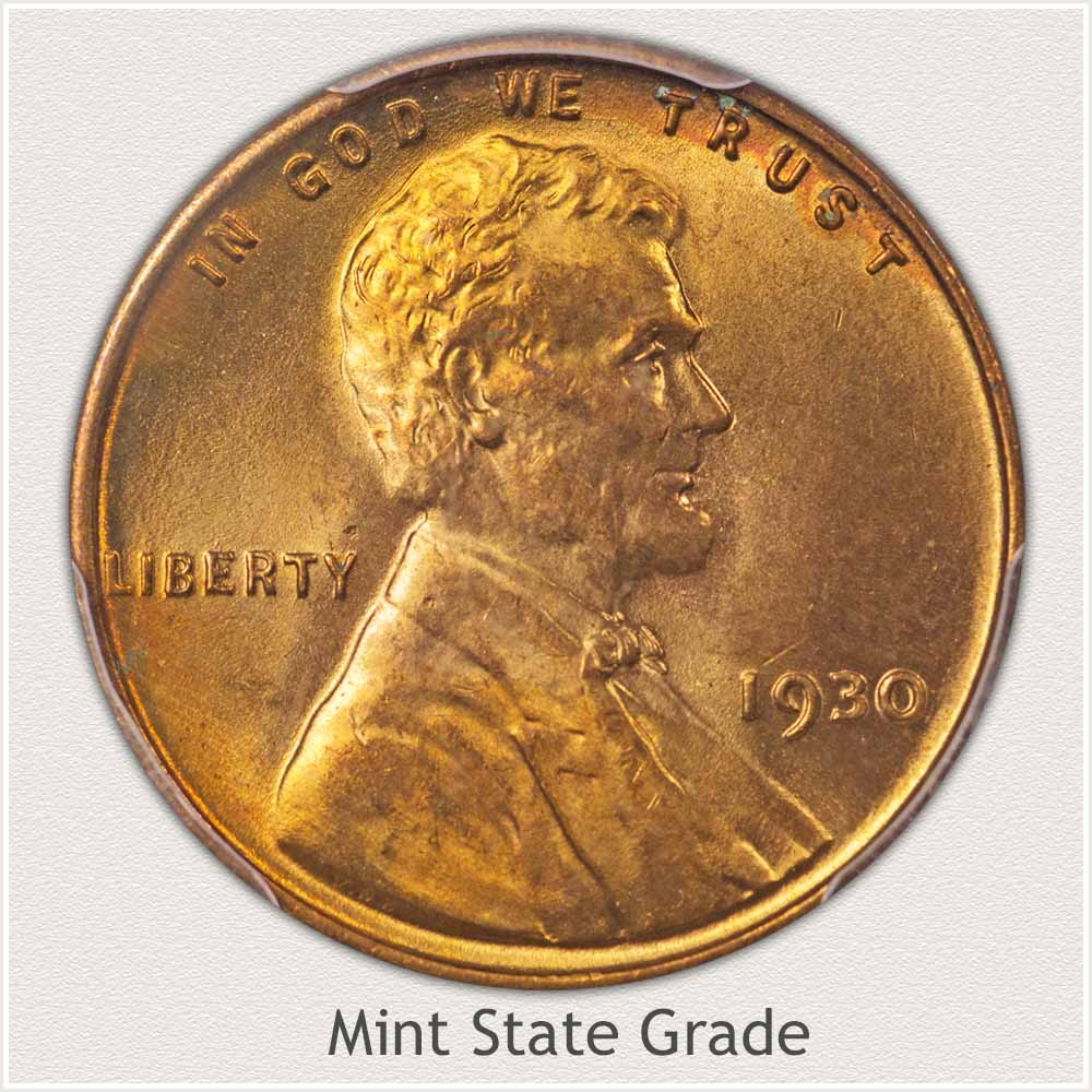 Mint State Wheat Cent