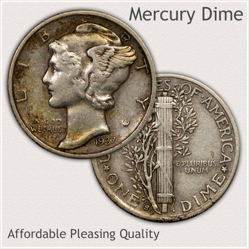 Collector Quality Mercury Dime